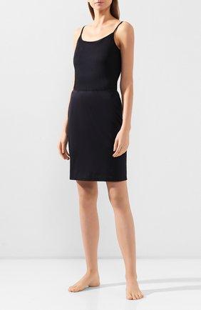 Женская юбка из вискозы HANRO черного цвета, арт. 071064 | Фото 2