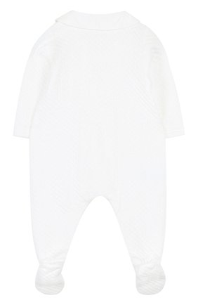 Детский комбинезон джерси TARTINE ET CHOCOLAT белого цвета, арт. TL32041 | Фото 2