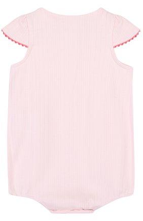 Детское хлопковый песочник TARTINE ET CHOCOLAT светло-розового цвета, арт. TL33131   Фото 2