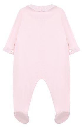 Хлопковая пижама с вышивкой | Фото №2