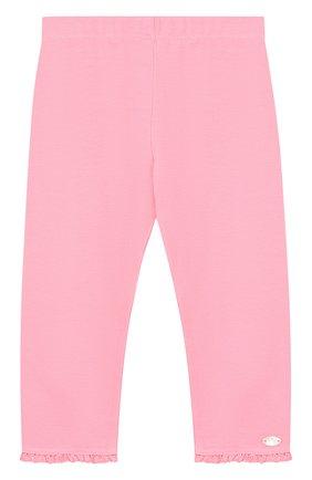 Детские хлопковые брюки с оборками TARTINE ET CHOCOLAT розового цвета, арт. TL24001/2A-3A | Фото 1