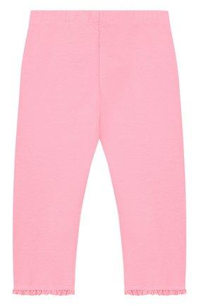 Детские хлопковые брюки с оборками TARTINE ET CHOCOLAT розового цвета, арт. TL24001/2A-3A | Фото 2