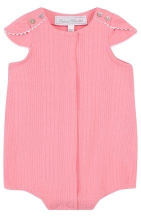 Детское хлопковый песочник TARTINE ET CHOCOLAT розового цвета, арт. TL33131   Фото 1