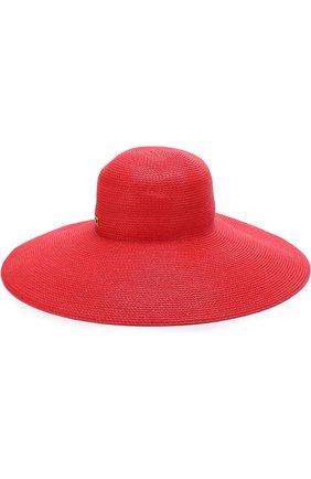 Шляпа Eric Javits красного цвета | Фото №1