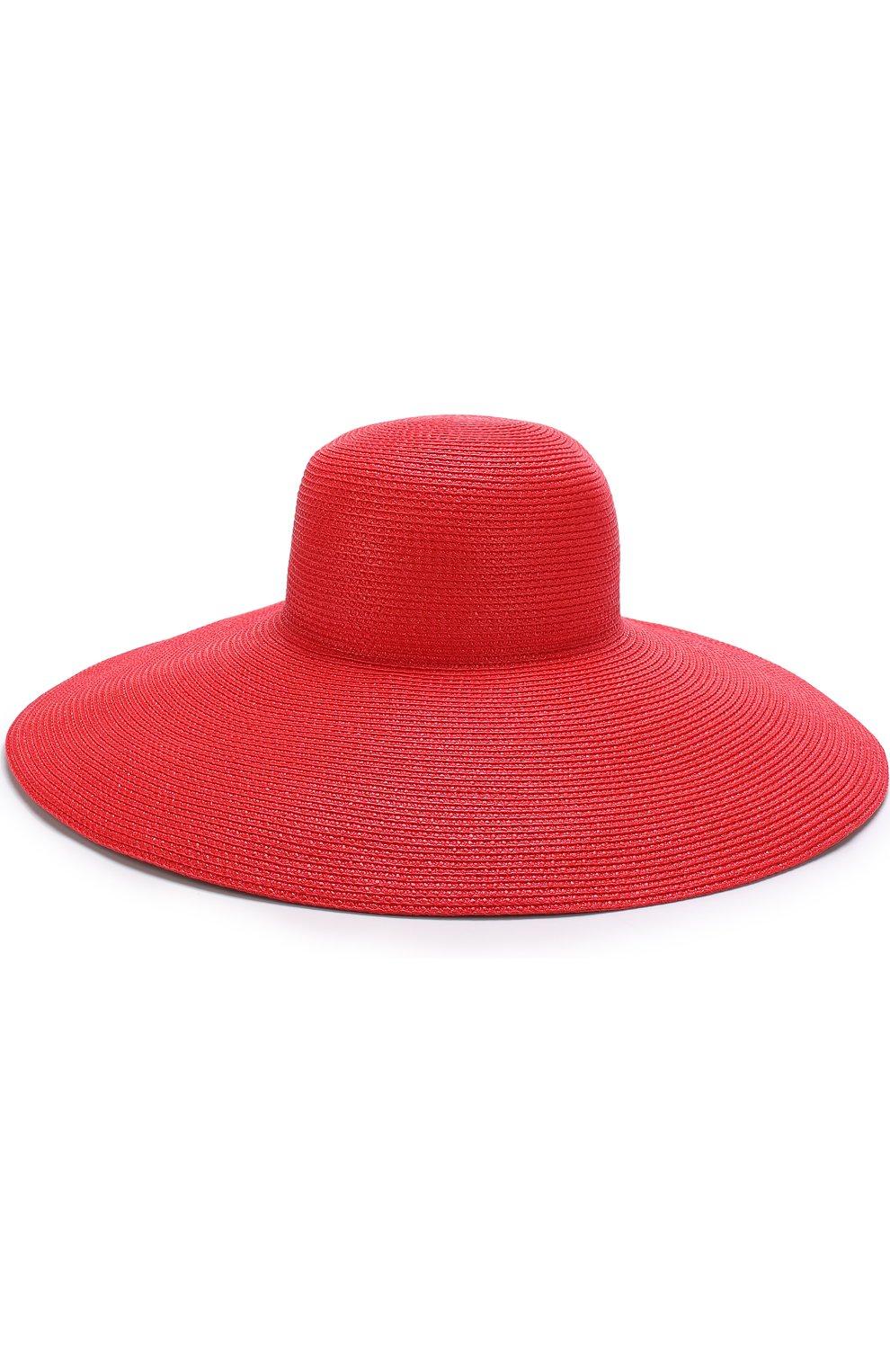 Шляпа Eric Javits красного цвета | Фото №2