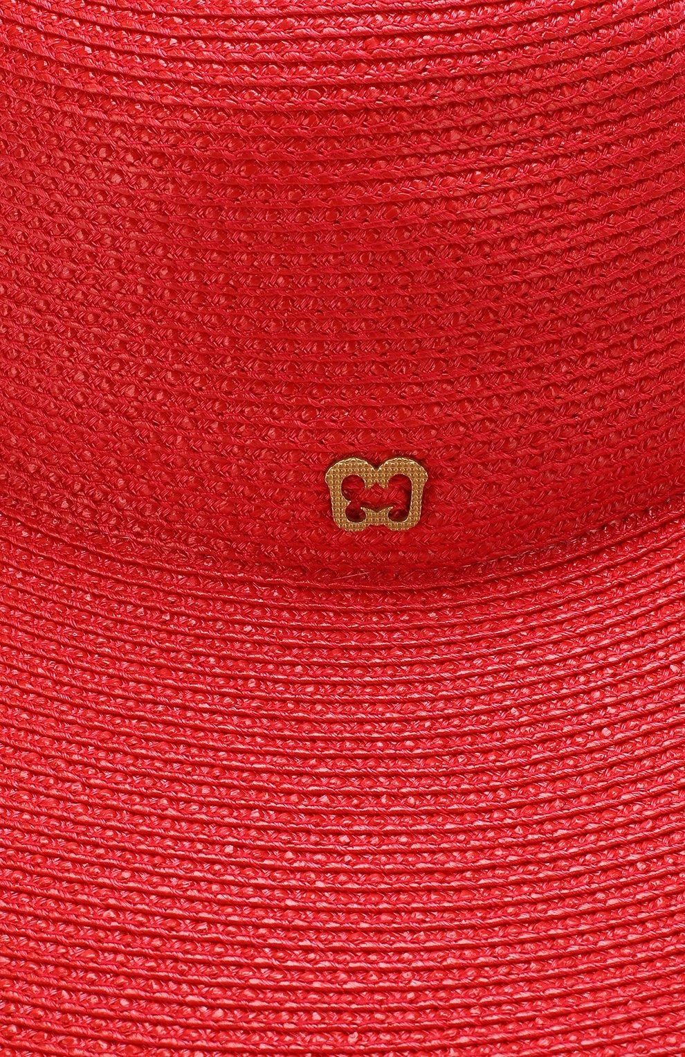 Шляпа Eric Javits красного цвета | Фото №3