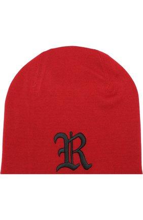 Мужская шерстяная шапка бини RALPH LAUREN красного цвета, арт. 790692845 | Фото 1