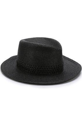 Шляпа Eric Javits черного цвета | Фото №1