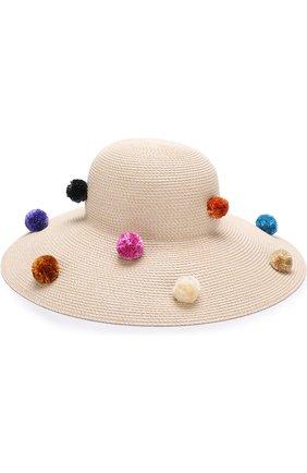 Шляпа с помпонами | Фото №1