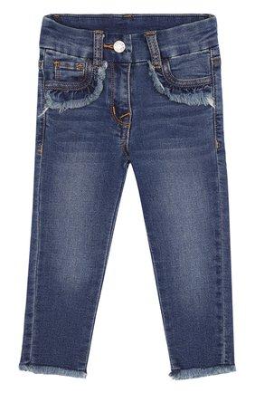 Зауженные джинсы с пайетками | Фото №1