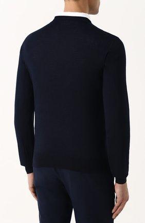 Пуловер из смеси шерсти и кашемира с шелком | Фото №4