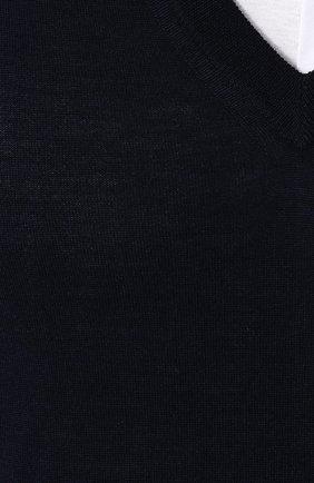 Пуловер из смеси шерсти и кашемира с шелком | Фото №5