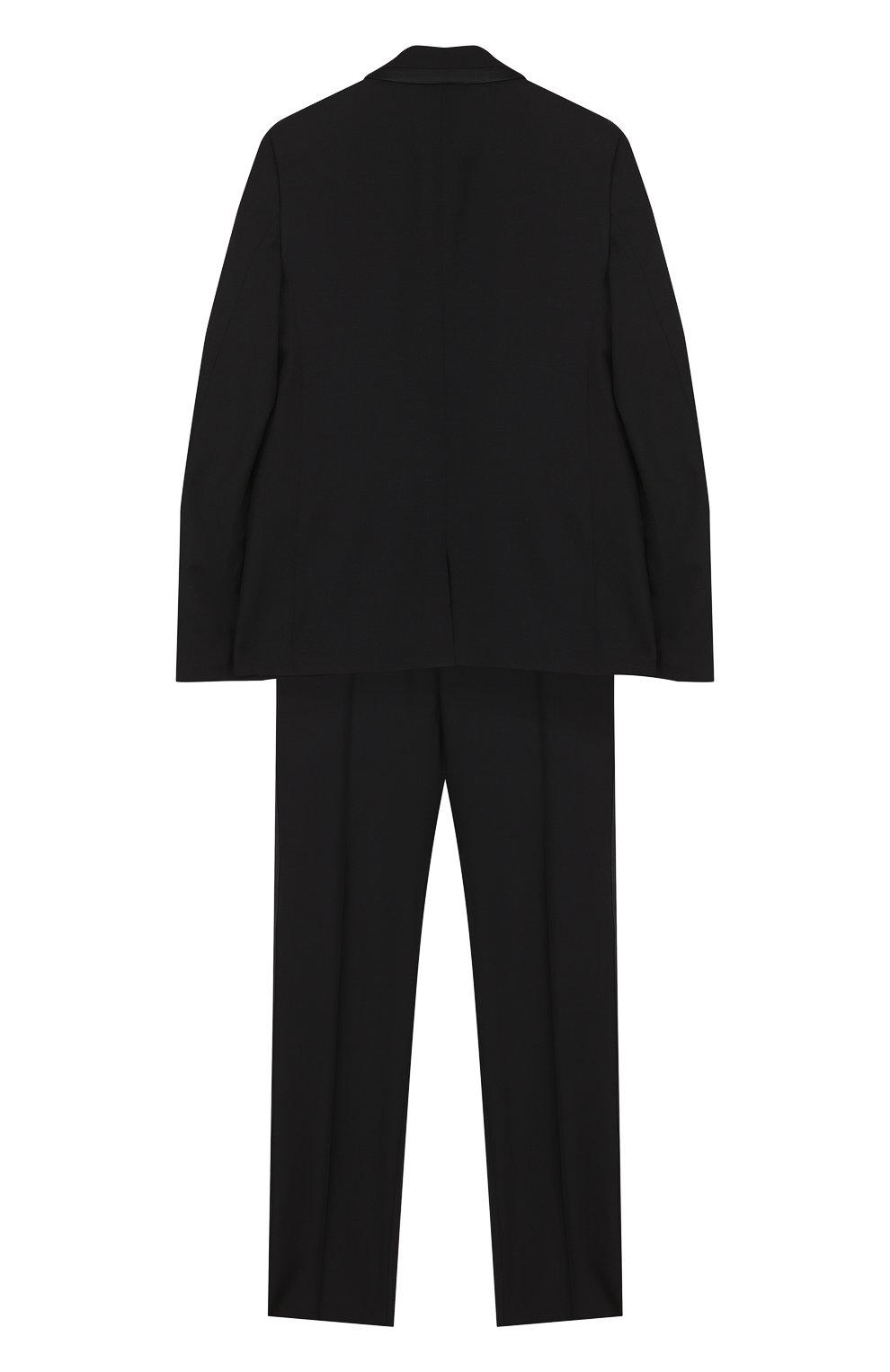 Шерстяной костюм-смокинг | Фото №2