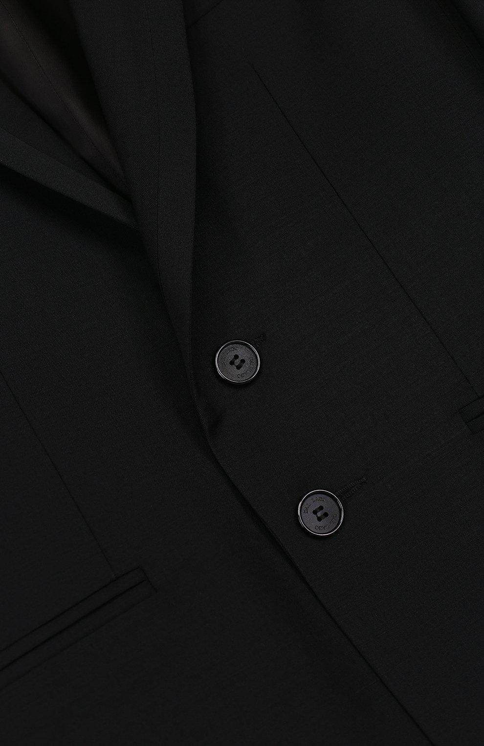 Шерстяной костюм-смокинг | Фото №3