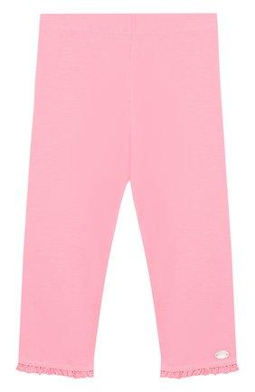 Хлопковые брюки с оборками | Фото №1