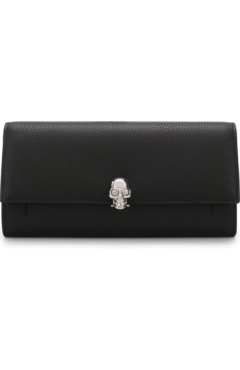 Кожаное портмоне с цепочкой   Фото №1