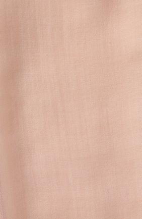 Мужские кашемировый шарф fil and fil LORO PIANA розового цвета, арт. FAG3858 | Фото 2