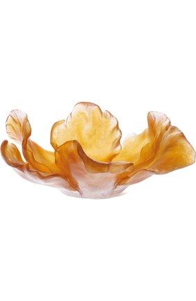 Мужского ваза для фруктов tulipe DAUM желтого цвета, арт. 03579 | Фото 1