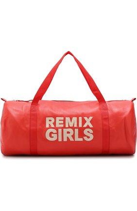 Спортивная сумка с вышивкой | Фото №1