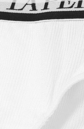 Детские брифы из вискозы с широкой резинкой LA PERLA белого цвета, арт. 54368/2A-6A | Фото 3
