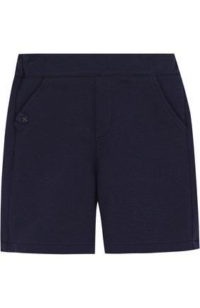 Хлопковые шорты с эластичной вставкой на поясе | Фото №1