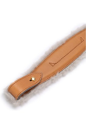 Ручка для сумки с отделкой из овчины   Фото №3