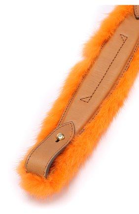 Ручка для сумки с отделкой из меха норки   Фото №3