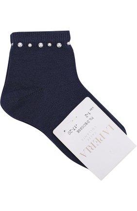 Хлопковые носки с бусинами | Фото №1