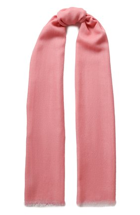 Мужские шарф aylit из смеси кашемира и шелка LORO PIANA розового цвета, арт. FAI1571 | Фото 1