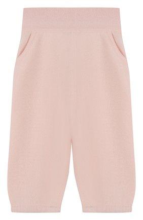 Детские кашемировые брюки LORO PIANA светло-розового цвета, арт. FAI0797 | Фото 1