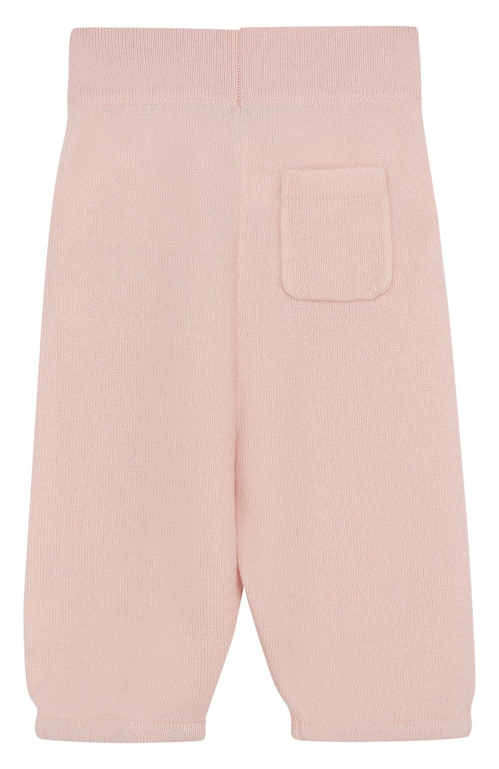 Детские кашемировые брюки LORO PIANA светло-розового цвета, арт. FAI0797 | Фото 2