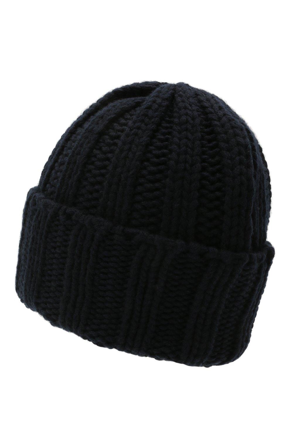Мужская кашемировая шапка INVERNI темно-синего цвета, арт. 2924CM   Фото 2