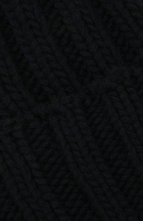 Мужская кашемировая шапка INVERNI темно-синего цвета, арт. 2924CM   Фото 3