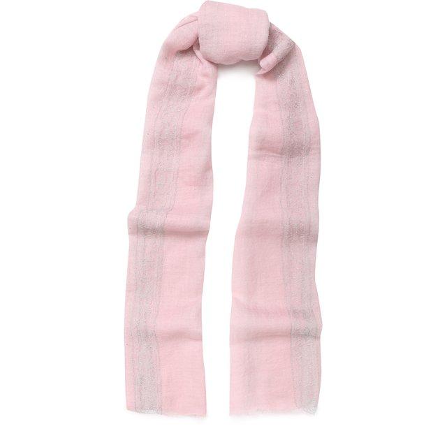 Кашемировый шарф с отделкой из кружева и страз Vintage Shades