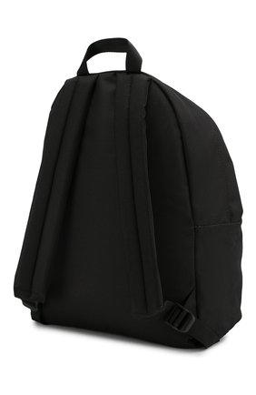 Рюкзак с принтом Marcelo Burlon Kids of Milan черного цвета | Фото №1