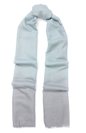 Шерстяной шарф с градиентным рисунком | Фото №1