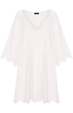 Кружевная полупрозрачная сорочка | Фото №1