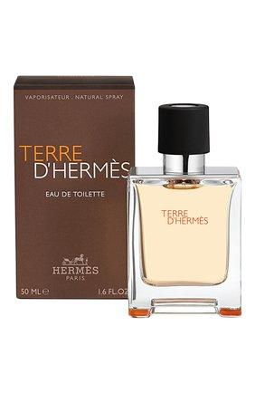 Мужской туалетная вода terre d'hermès HERMÈS бесцветного цвета, арт. 20873H | Фото 2 (Статус проверки: Проверена категория; Ограничения доставки: flammable)