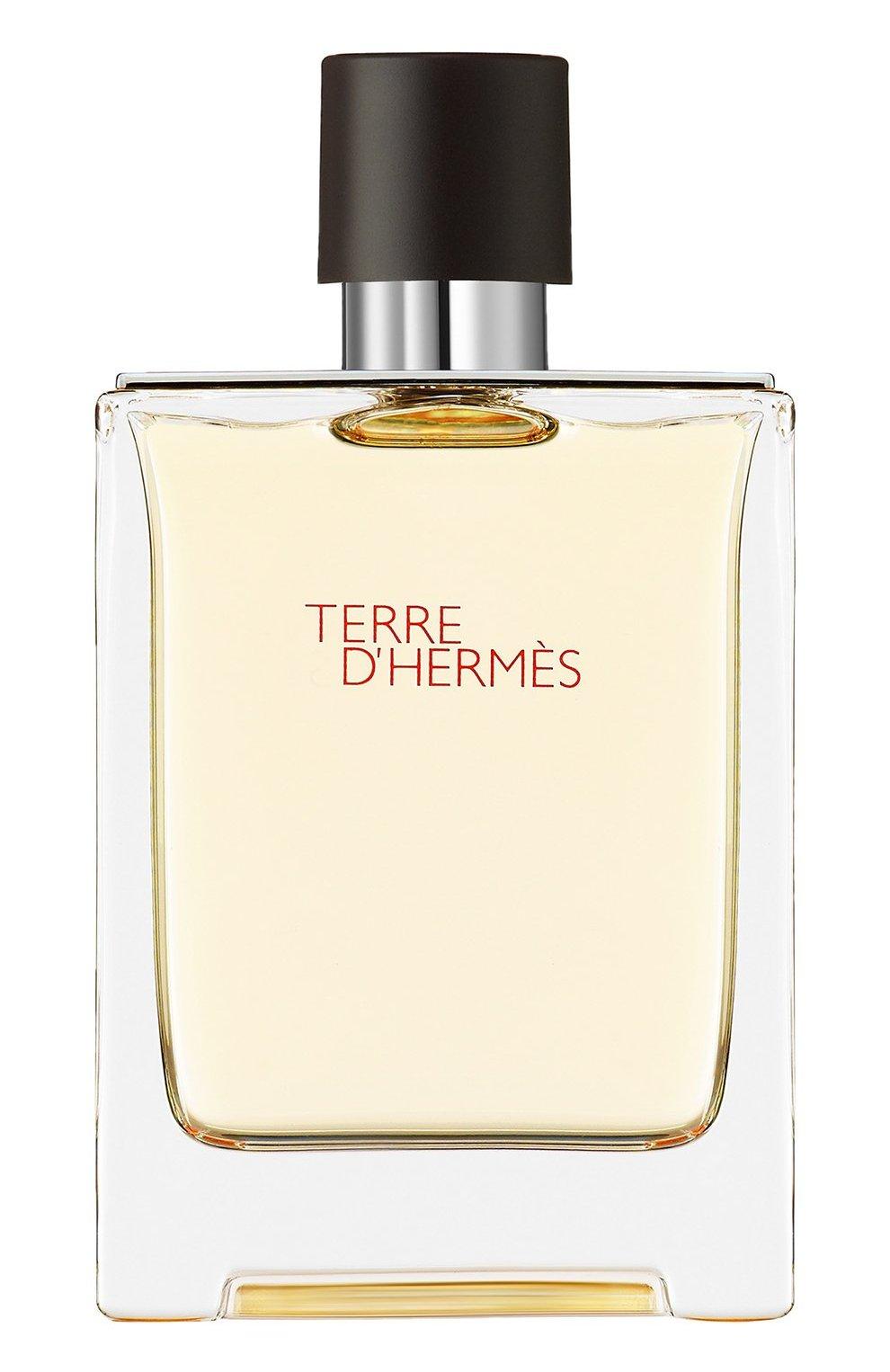 Мужской туалетная вода terre d'hermès HERMÈS бесцветного цвета, арт. 20872H   Фото 1 (Статус проверки: Проверена категория; Ограничения доставки: flammable)