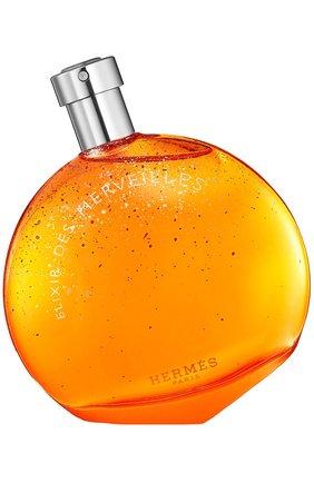 Женский парфюмерная вода élixir des merveilles HERMÈS бесцветного цвета, арт. 21150H | Фото 1