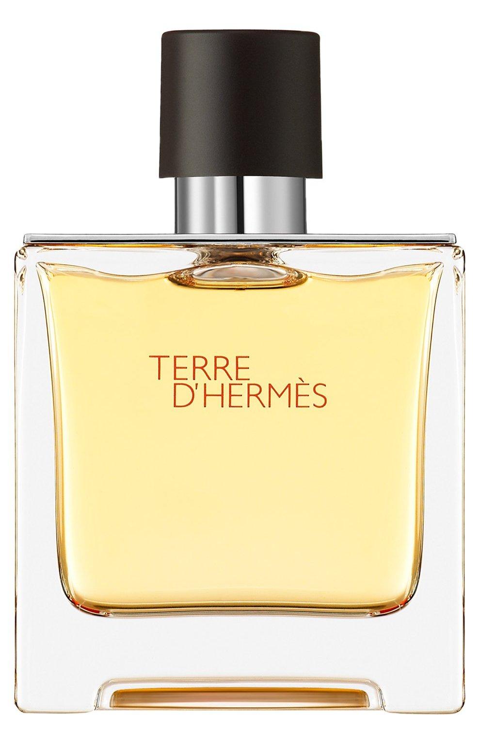 Мужской духи terre d'hermès (75ml) HERMÈS бесцветного цвета, арт. 24578H   Фото 1 (Статус проверки: Проверена категория; Ограничения доставки: flammable)