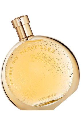 Женский парфюмерная вода l'ambre des merveilles HERMÈS бесцветного цвета, арт. 29893H | Фото 1
