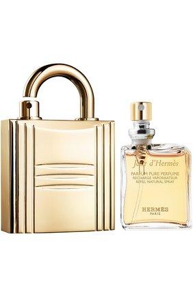 Духи Jour d'Hermès с футляром в виде золотого замка | Фото №1