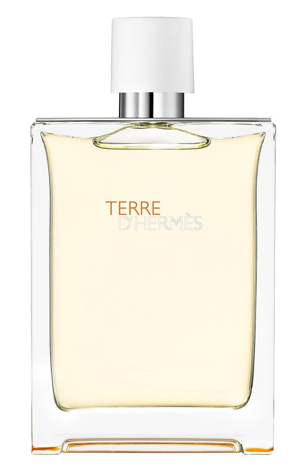 Мужской туалетная вода terre d'hermès eau très fraîche HERMÈS бесцветного цвета, арт. 33034H   Фото 1