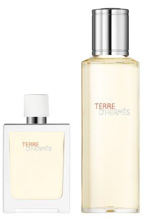 Набор: Туалетная вода Terre d'Hermès Eau Très Fraîche + refill | Фото №1