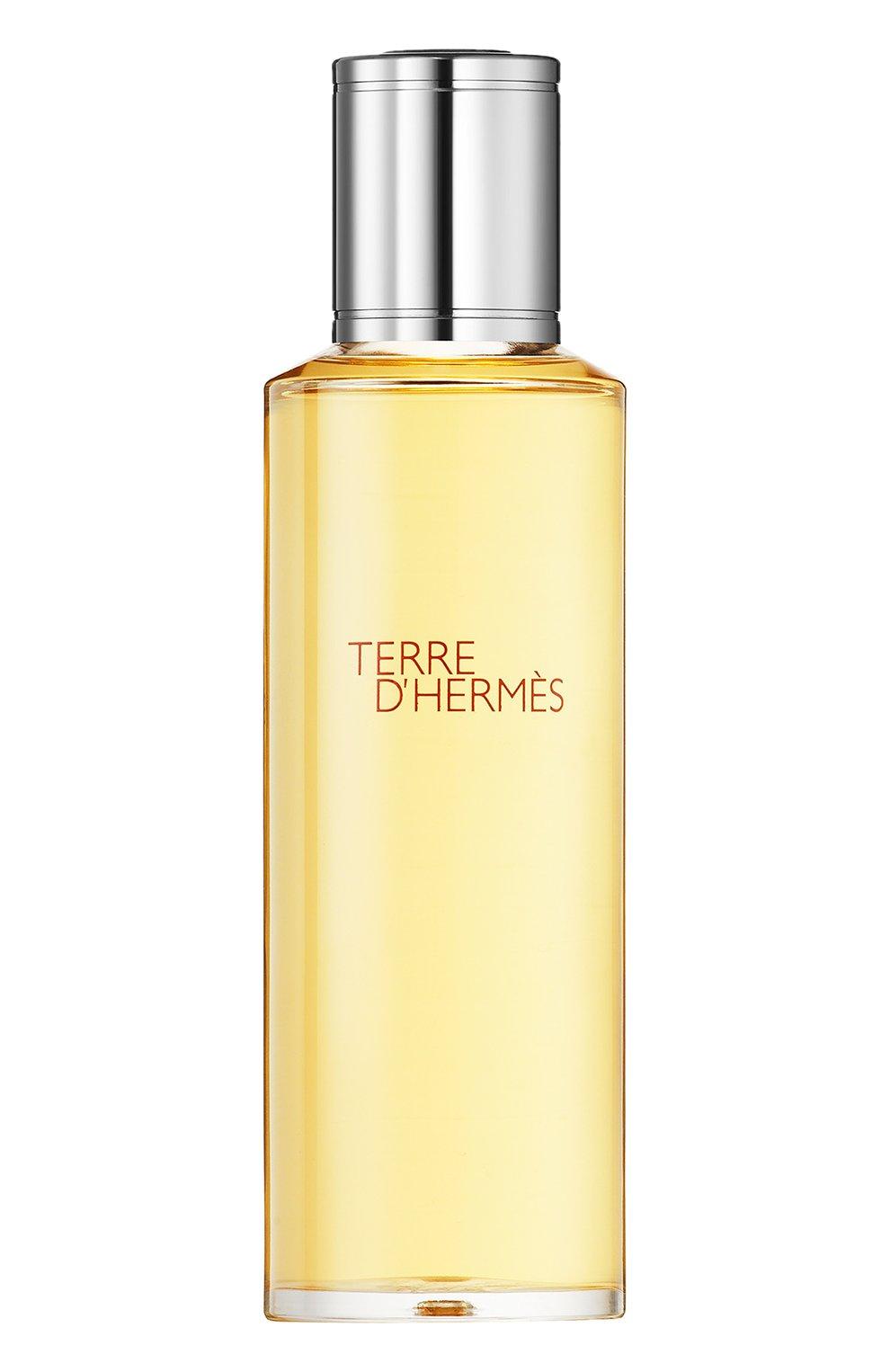 Мужской духи terre d'hermès сменный блок HERMÈS бесцветного цвета, арт. 288221H   Фото 1