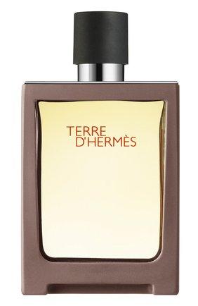 Мужской туалетная вода terre d'hermès HERMÈS бесцветного цвета, арт. 39122H | Фото 1