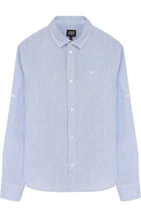 Льняная рубашка   Фото №1