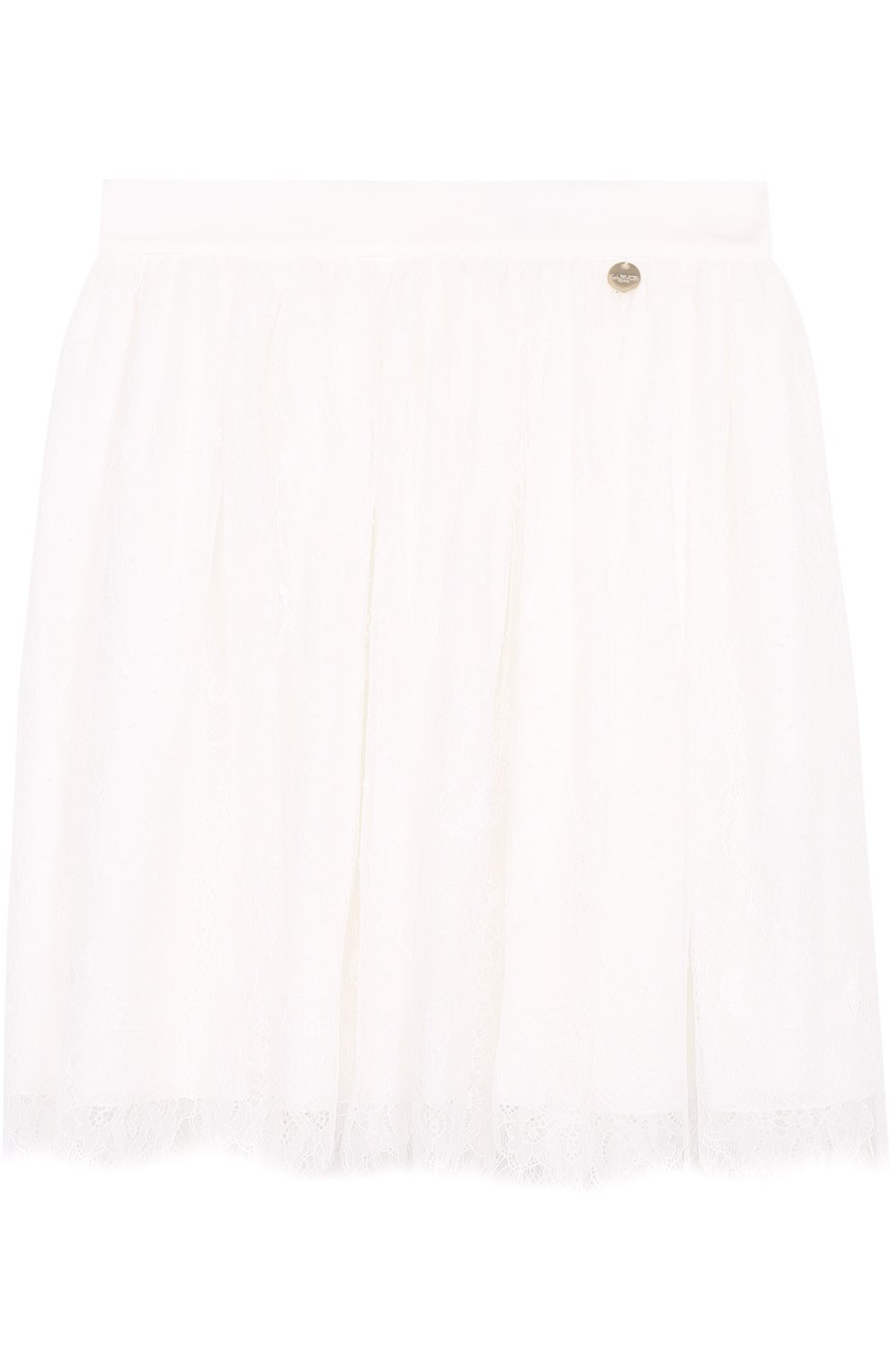 Многослойная кружевная юбка   Фото №1