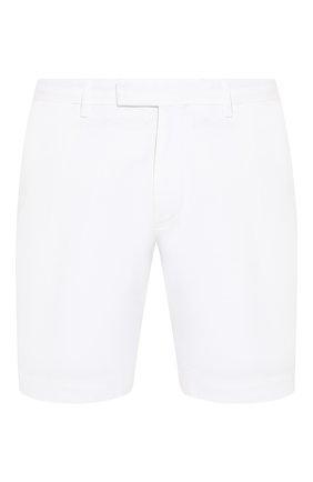 Мужские хлопковые шорты  POLO RALPH LAUREN белого цвета, арт. 710646709 | Фото 1